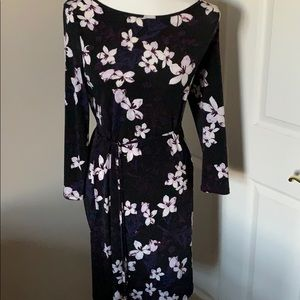 Ivanka Trump fitted dress with flowers